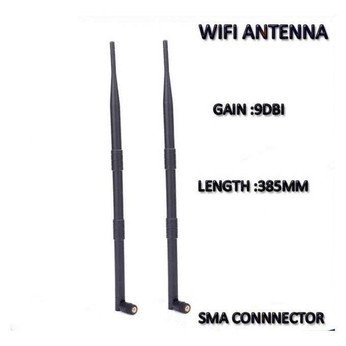 High Gian 2.4Ghz Full Wave Antenna , Wireless Internet Receiver Antenna