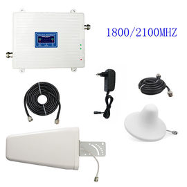 3G 4G Cell Phone Signal Repeater FDD LTE 1800/2100MHz UMTS/HSPA Booster Amplifier