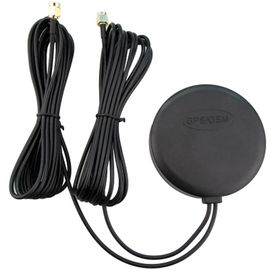 Waterproof  GSM Vehicle GPS Antenna , Automotive GPS Antenna SMA Male Connector